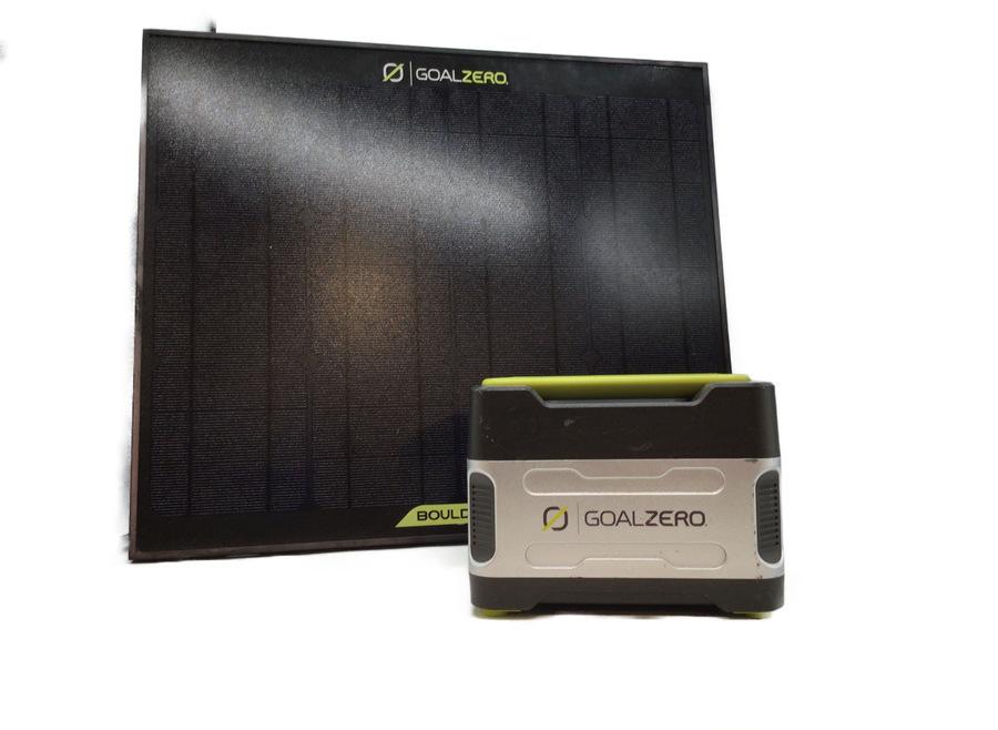 Goal Zelo(ゴールゼロ)のポータブル電源・ソーラーパネルが入荷!キャンプだけでなく緊急時にも活躍間違い無しの1品!