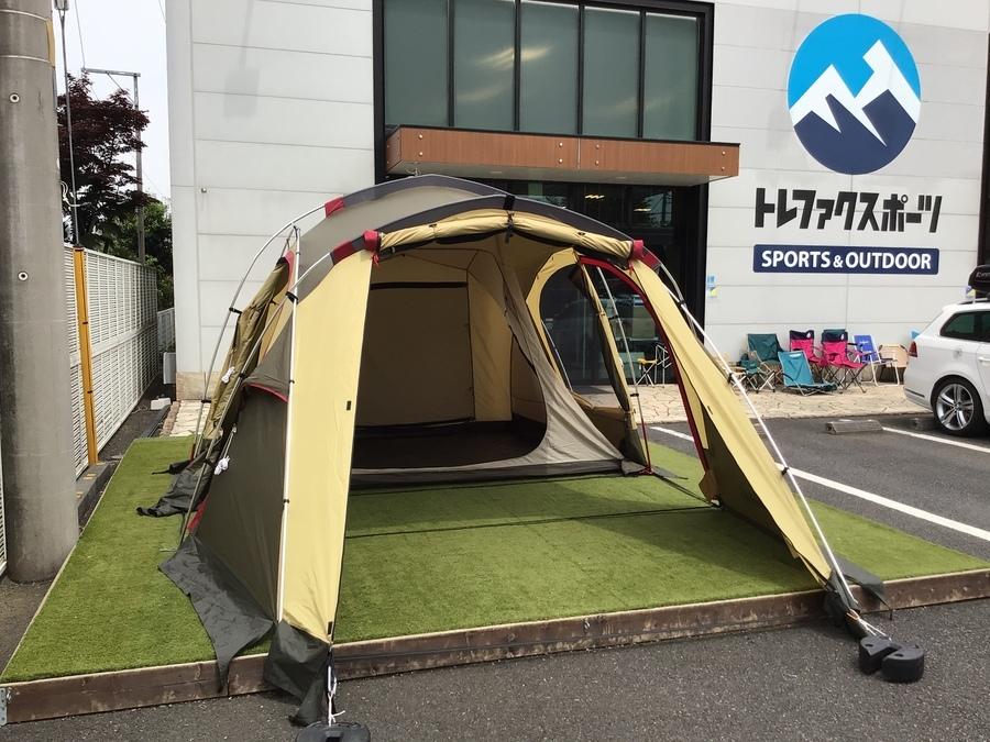 初心者必見!簡単設営で居住性も抜群なOGAWA(オガワ)のシュナーベル5をご紹介!!