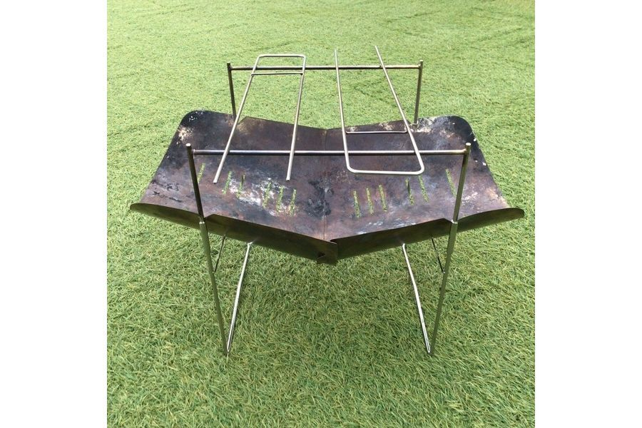 ソロキャンプ最軽量!picogrill398(ピコグリル398)入荷!A4サイズに折り畳める驚異の収納性!