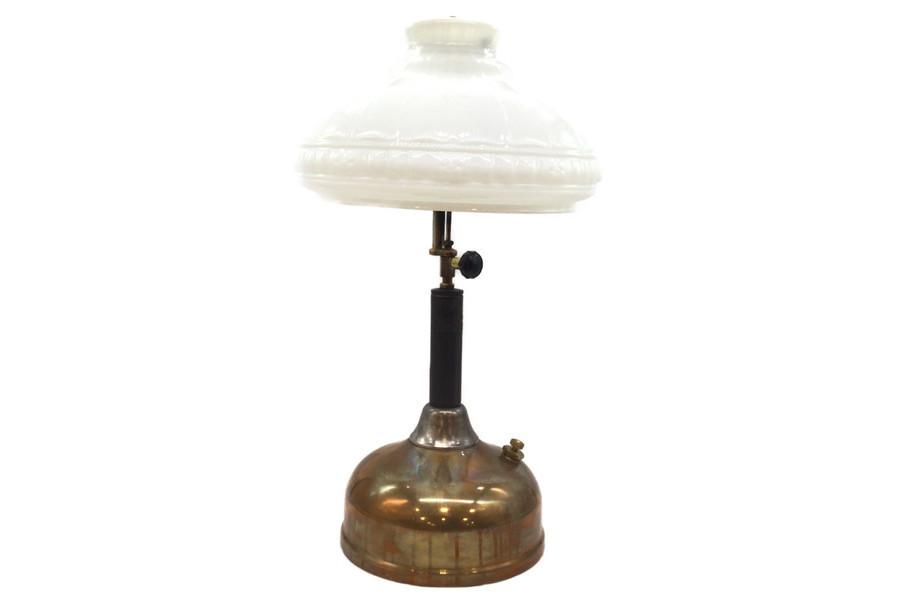 推定1920年代製造!Coleman(コールマン)の歴史あるテーブルランプ「CQ」モデルをご紹介!
