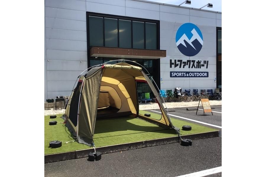 2~3人使用にぴったりなOGAWA(オガワ)の小型2ルームテント「ポルヴェーラ34」をご紹介!