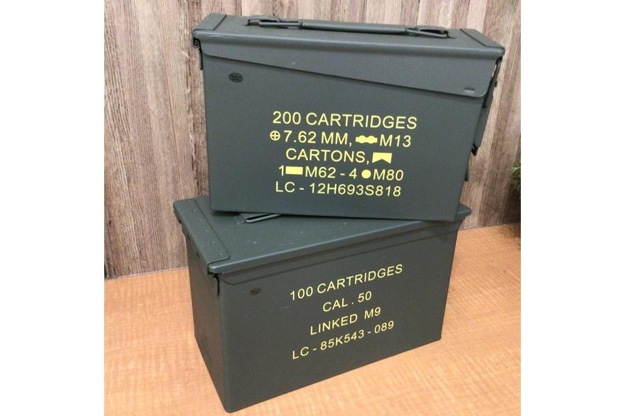 【ミリタリー特集】弾薬箱に書いてある文字の内容解説!これが分かると弾薬箱を選ぶ際に楽しくなります!