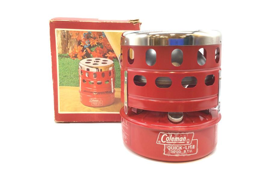 冬キャンプでこたつが楽しめる?ビビッドカラーが特徴のColeman(コールマン)のキャタリティックヒーター「518B」をご紹介!