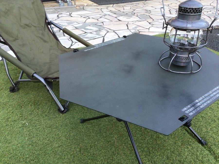 キャンプギークスよりヘリノックスのタクティカルテーブル天板入荷