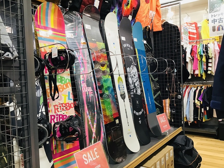 スノーボードのSALE