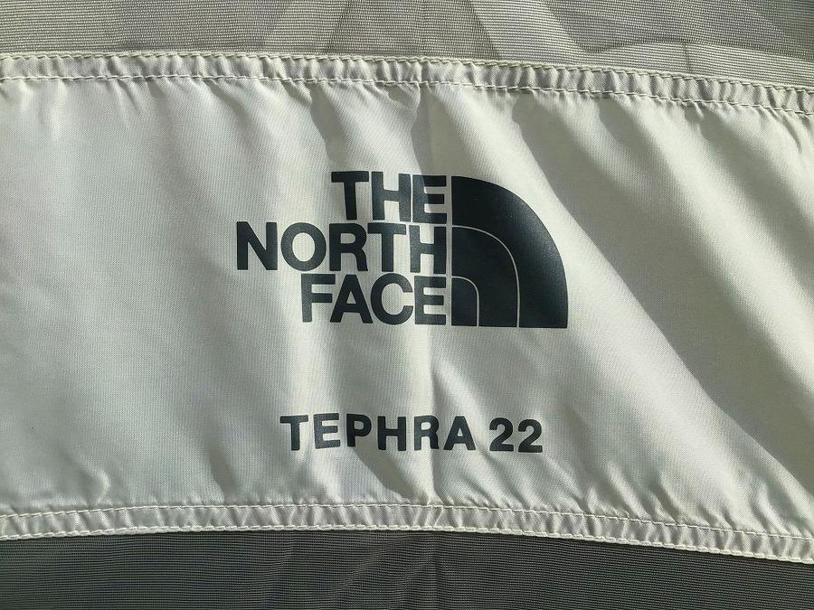 ノースフェイスのテフラ22