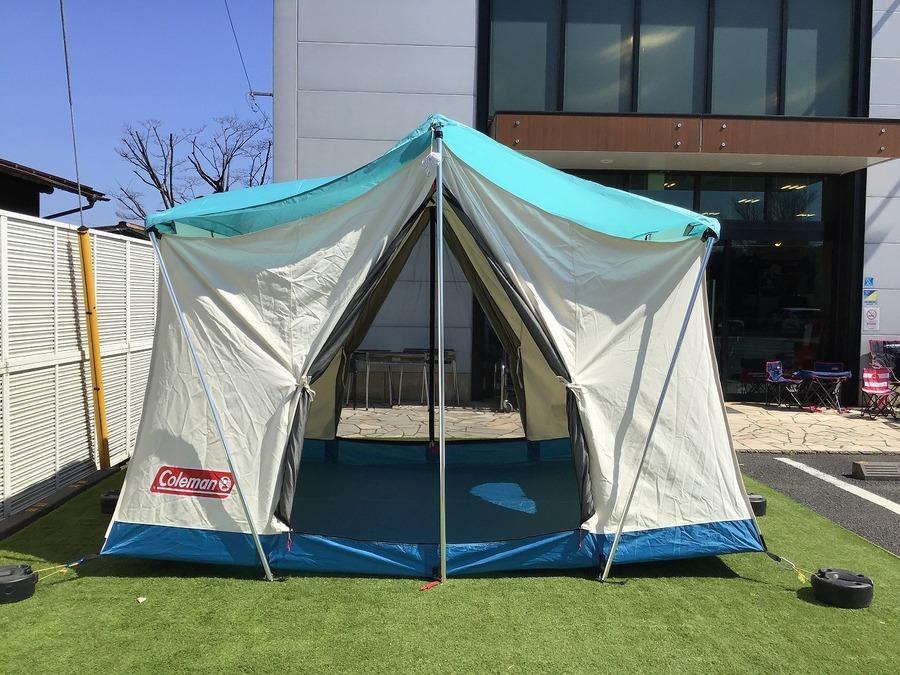 テントのColeman