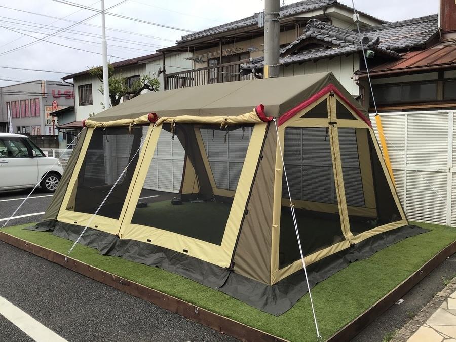 シェルターのOGAWA CAMPAL