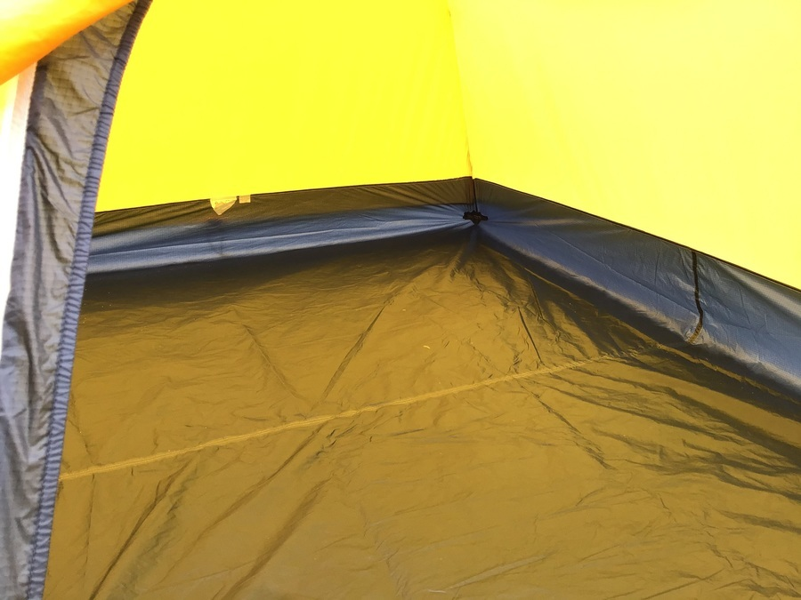 モンベルのテント