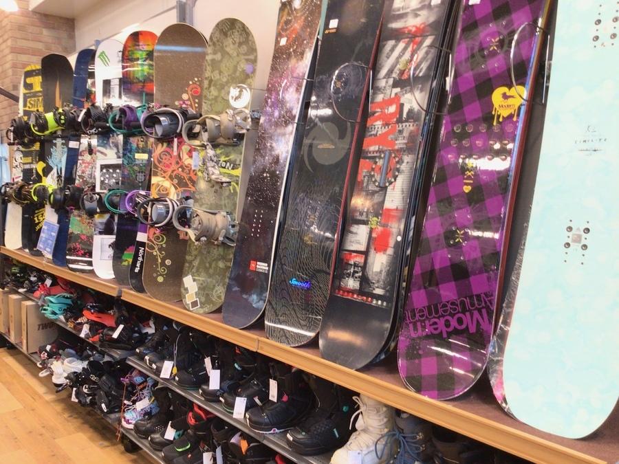スノーボードの中古ウィンター用品