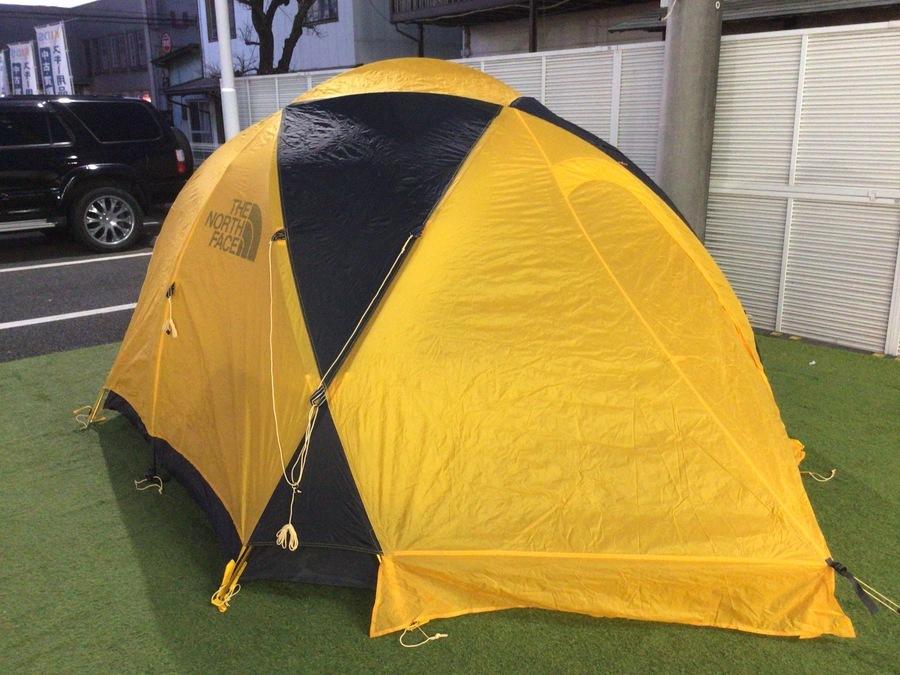 中古テントのノースフェイス