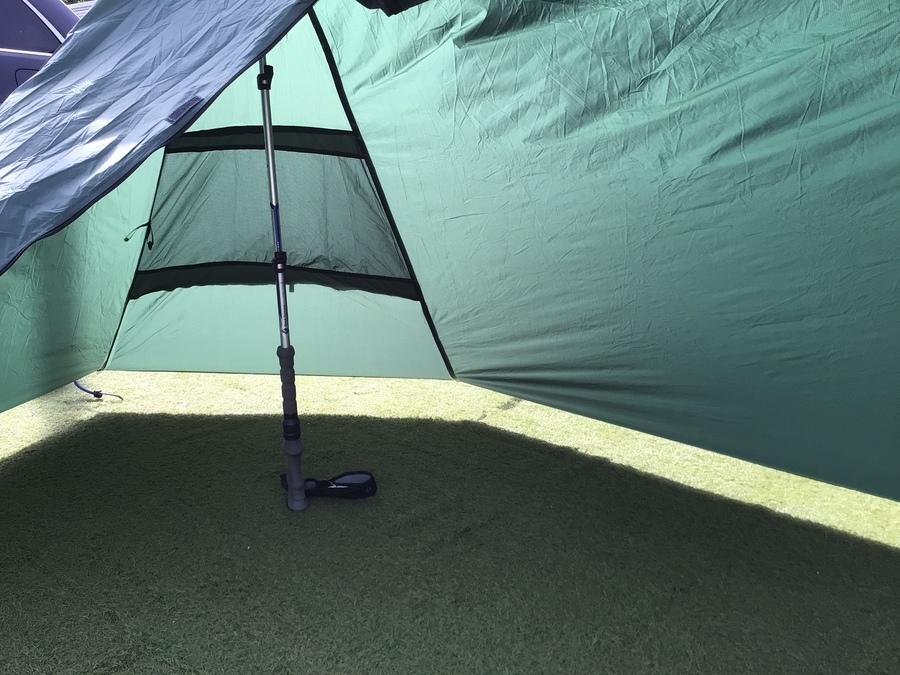 ソロキャンプのA-Flame tent