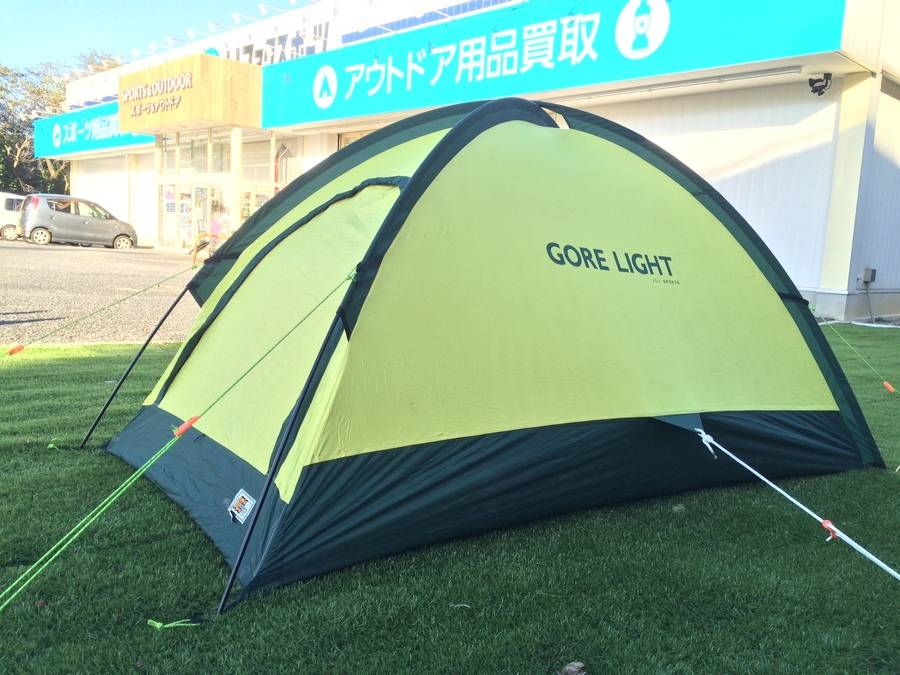 【TFスポーツ】山に!ツーリングに!最適のテントご紹介!!