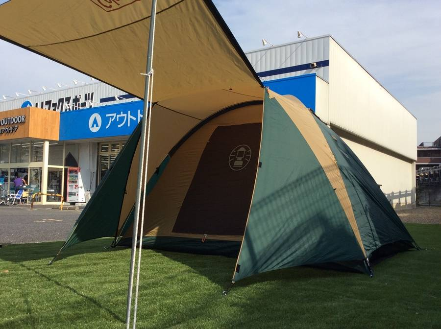 【TFスポーツ柏店】【前編】初心者でも楽チン♪テントの設営方法