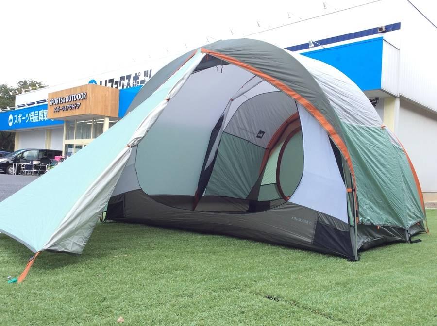 【TFスポーツ柏】珍しいドームテント。KINGDOM6!【中古キャンプ用品】