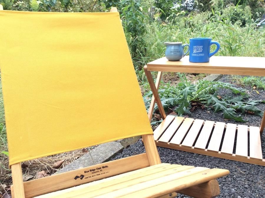 【TFスポーツ柏】Blue ridge Chair Worksローチェア【中古キャンプ用品】