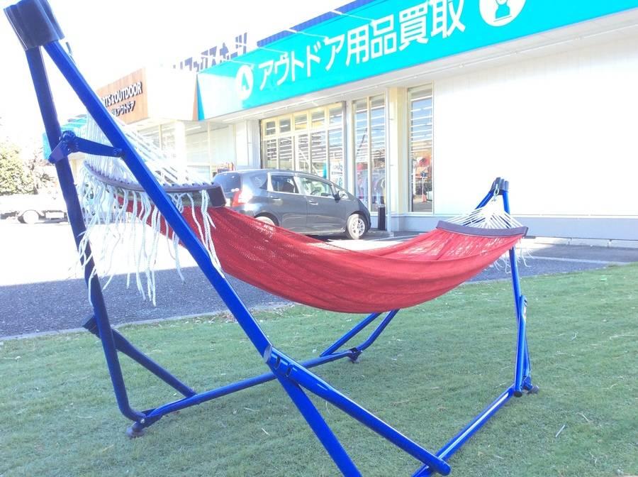 【TFスポーツ柏】大人気TOYMOCKのハンモック入荷!!【中古アウトドア用品】
