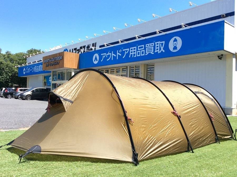 【TFスポーツ柏店】HILLEBERG ケロン4GTサンドカラー入荷【中古キャンプ用品・中古アウトド】