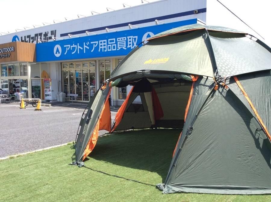【TFスポーツ柏店】LOGOS スペースベースデカゴンコスモス-N入荷
