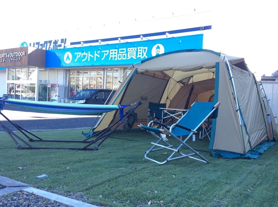 【スポーツ柏】2ルームテント在庫情報!!!一部セール品あります!!