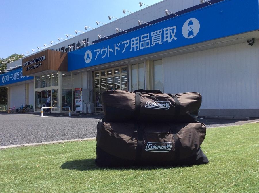 【スポーツ柏】入荷速報!Colemanのウェザーマスターシリーズのテントが入荷!