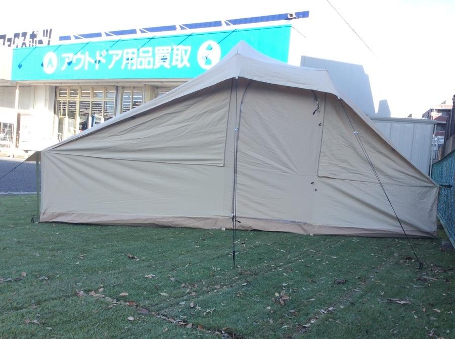 廃盤希少なテント!ノルディスクのココモ張ってみた。