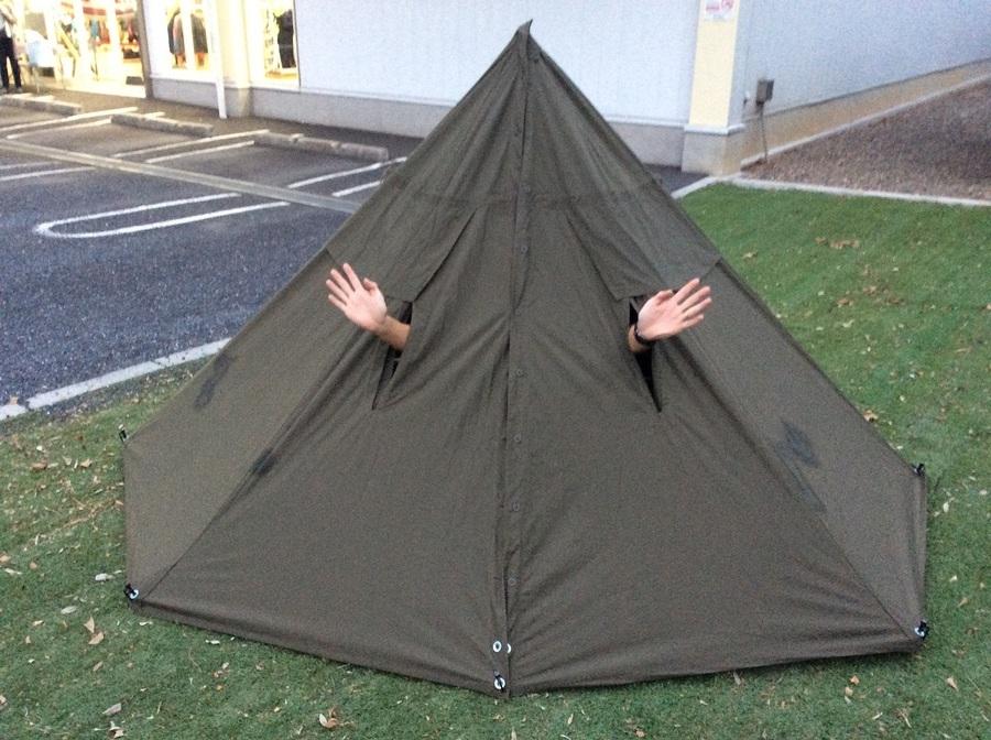 どうもっテントマンです!変り種テントのご紹介です!!