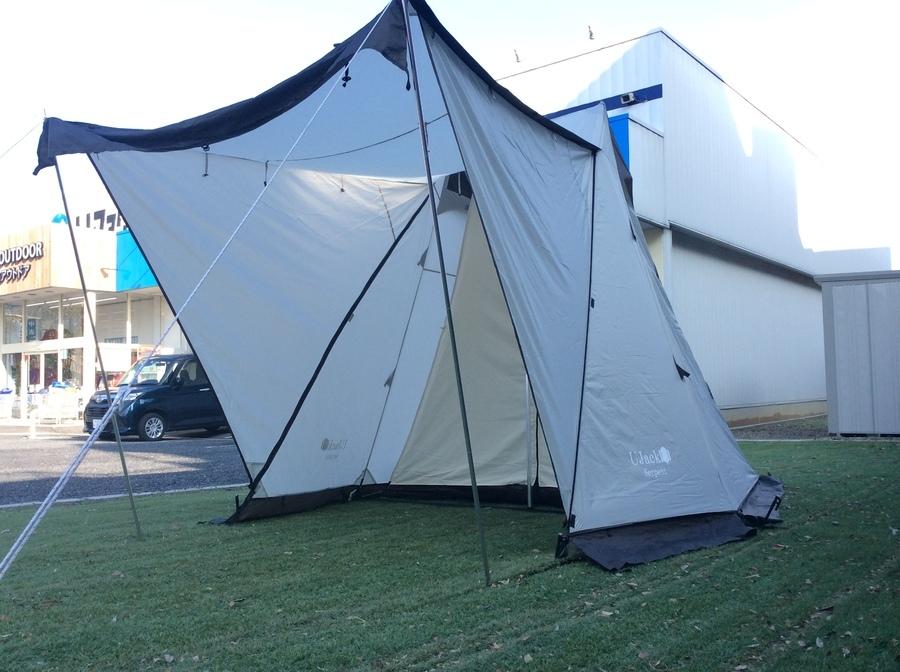 UJACKのサーペントテント(新品・中古)在庫あります!