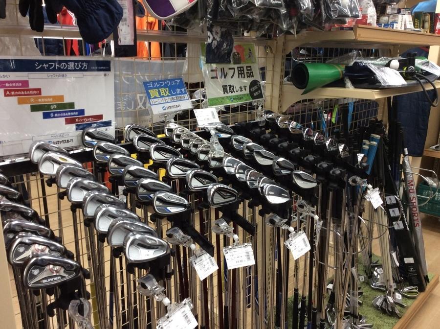 オンラインで買えるゴルフウェア・クラブのご紹介!