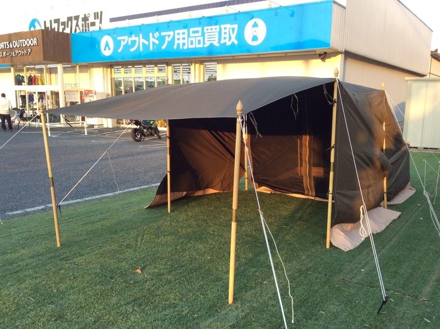 漢気テント!キャンプオンパレードのラストフロンティアパーティ入荷!