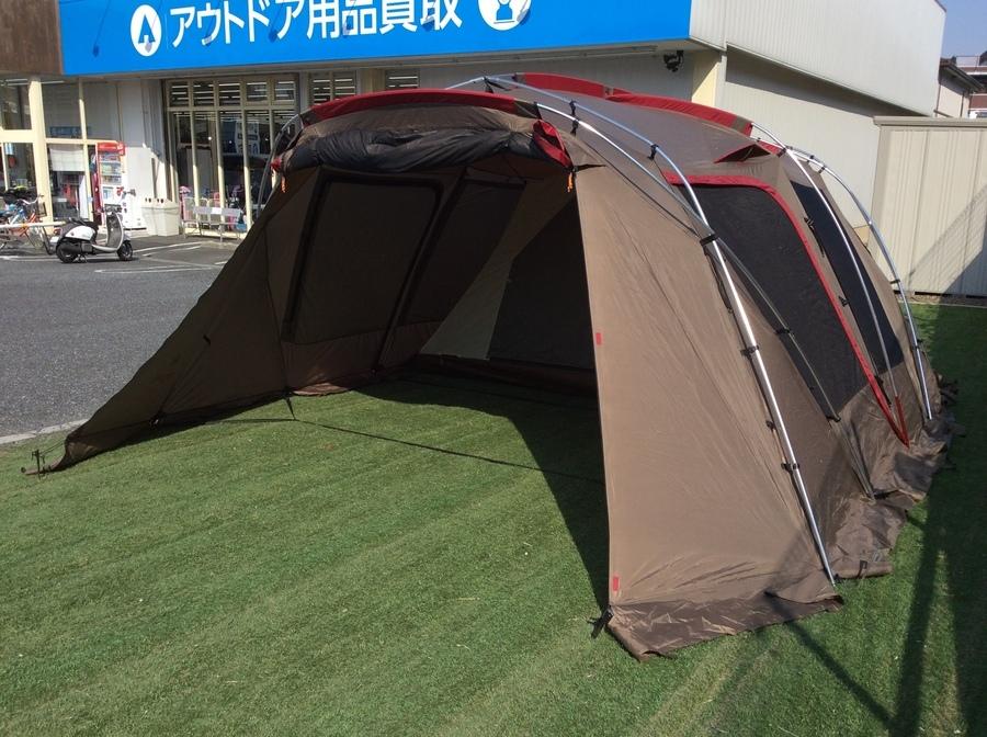 定番のツールームテントと言えばスノーピークのランドロック!