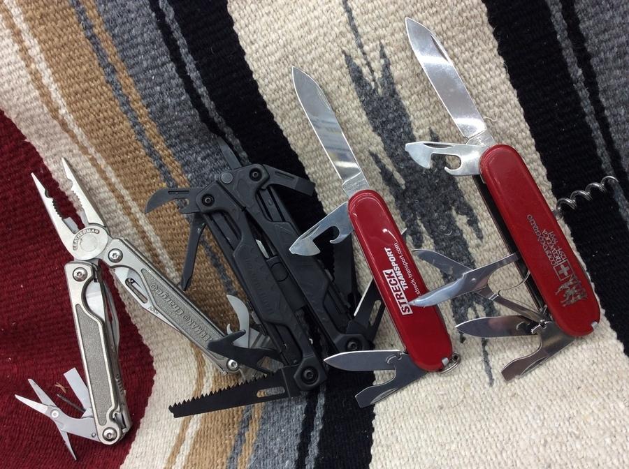 いざと言う時に!ビクトリノックス&レザーマンのツールナイフ【オンライン販売中】