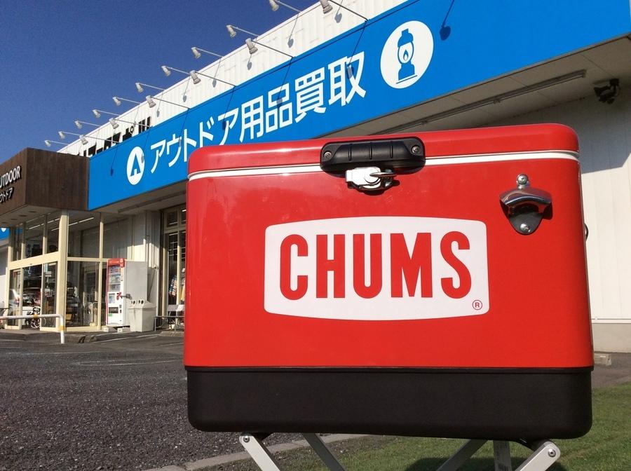即売れ必須!CHUMS(チャムス)のクーラーボックス入荷!!