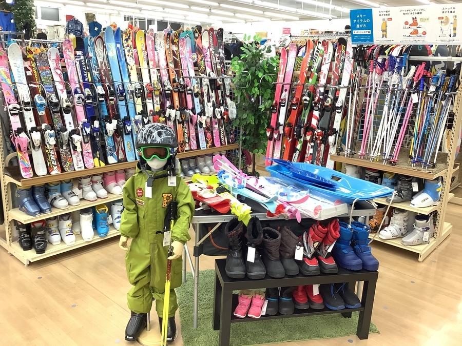 【中古買取】スキー・スノーボードを売るのも買うのもトレファクスポーツ柏店へ!