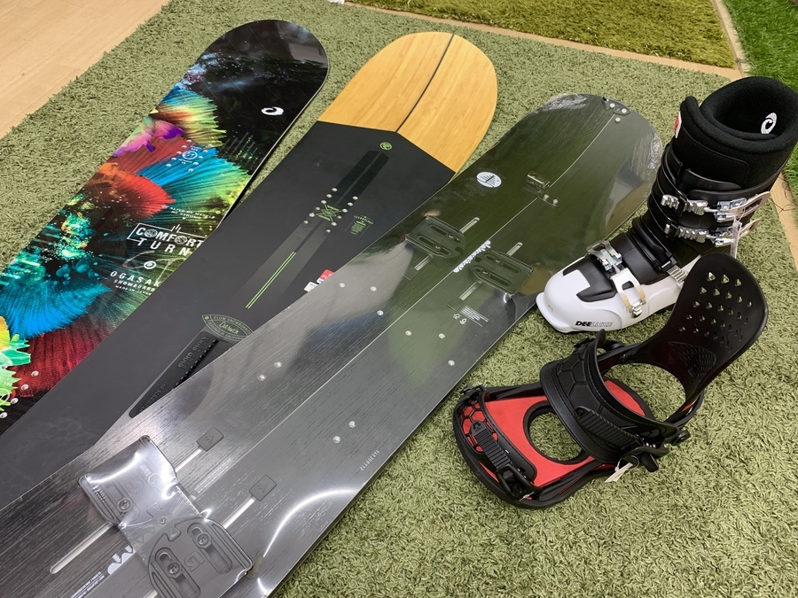 柏店おすすめ!今月のスノーボード在庫情報第3弾!