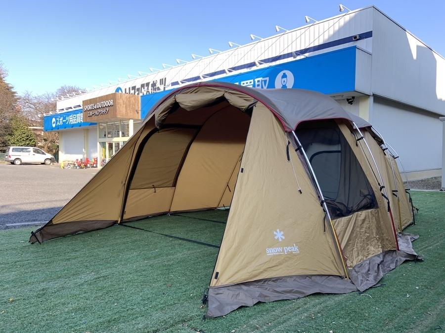 はじめての2ルームテントにオススメ!スノーピークのエルフィールド設営してみた!