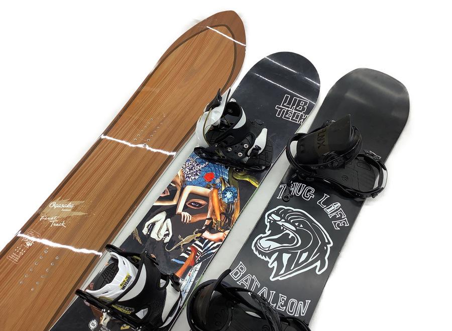 柏店おすすめ!今月のスノーボード在庫情報第4弾!