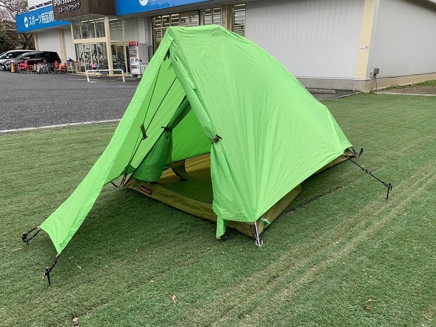 3月第2弾!ソロキャンで使えるテント&タープご紹介!!