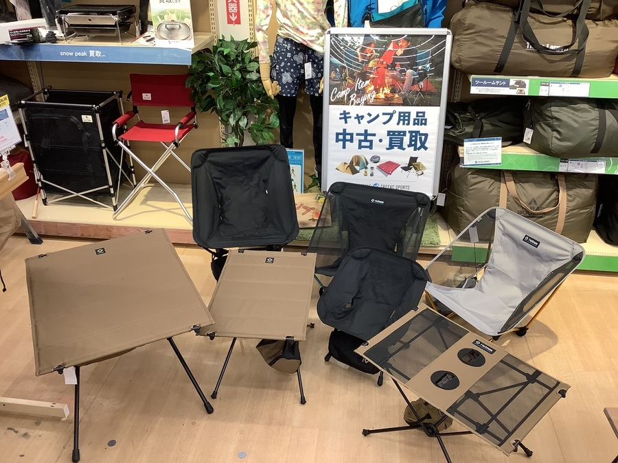 【オンライン購入可】ヘリノックスのチェア・テーブルまとめてご紹介!!