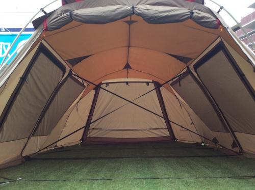 テントのツールームテント