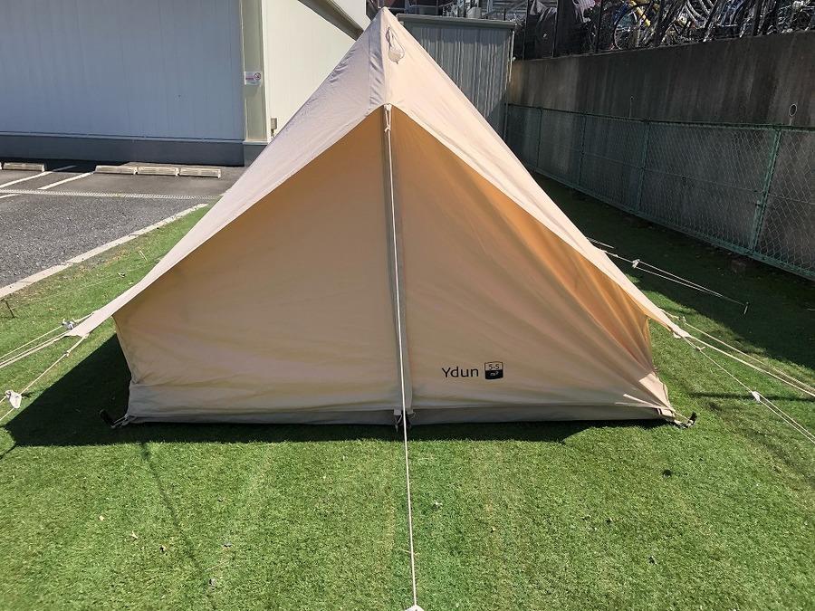キャンプ用品のNORDISK