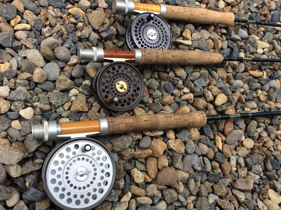 アウトドアの釣り具