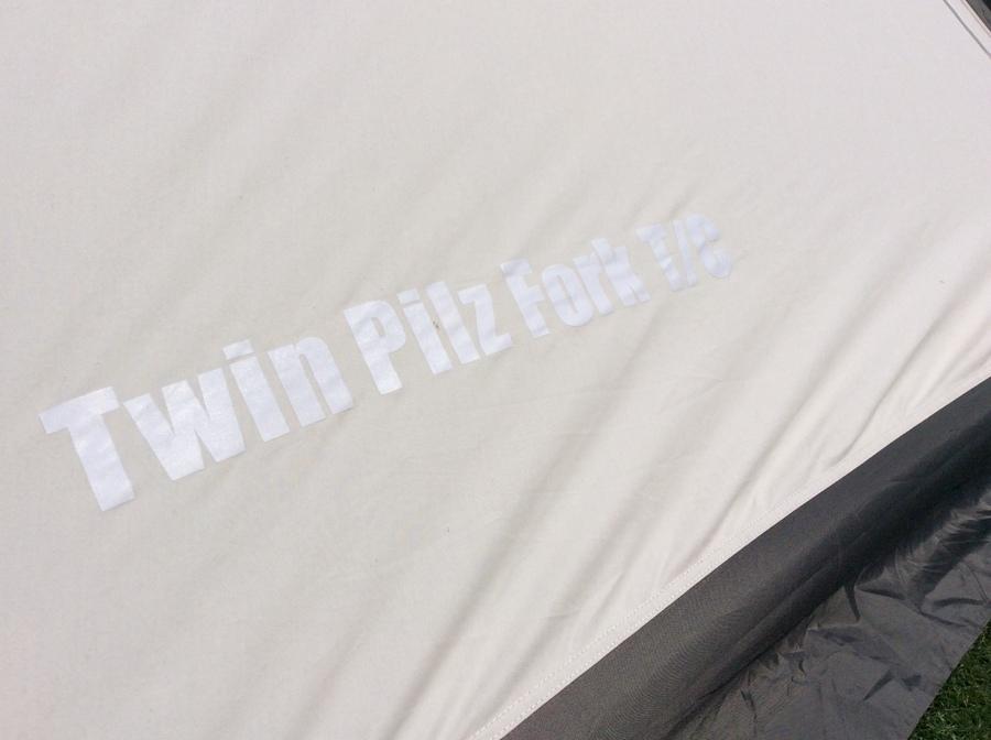シェルターのテント