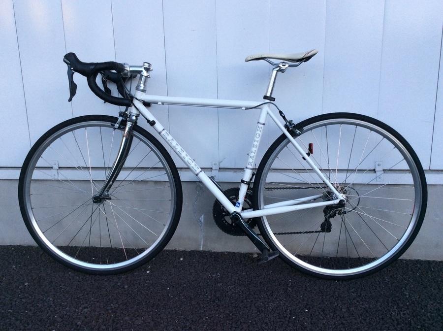 自転車のRALEIGH