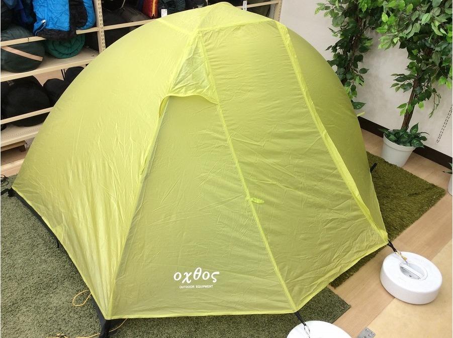 テントのソロキャン