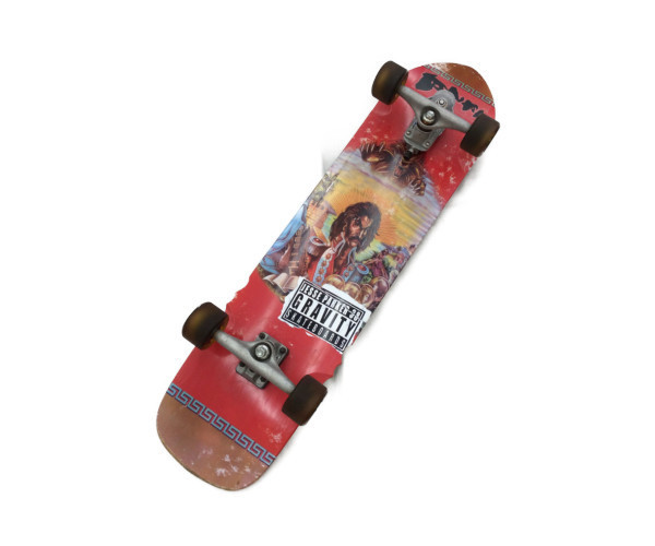 デスレーベルのロングスケートボード