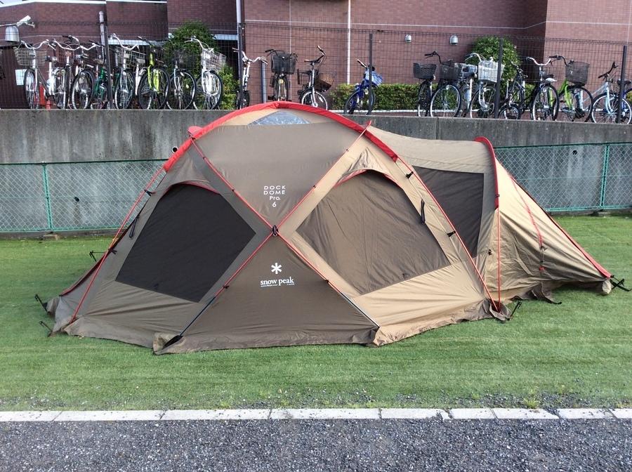 テントのシェルター