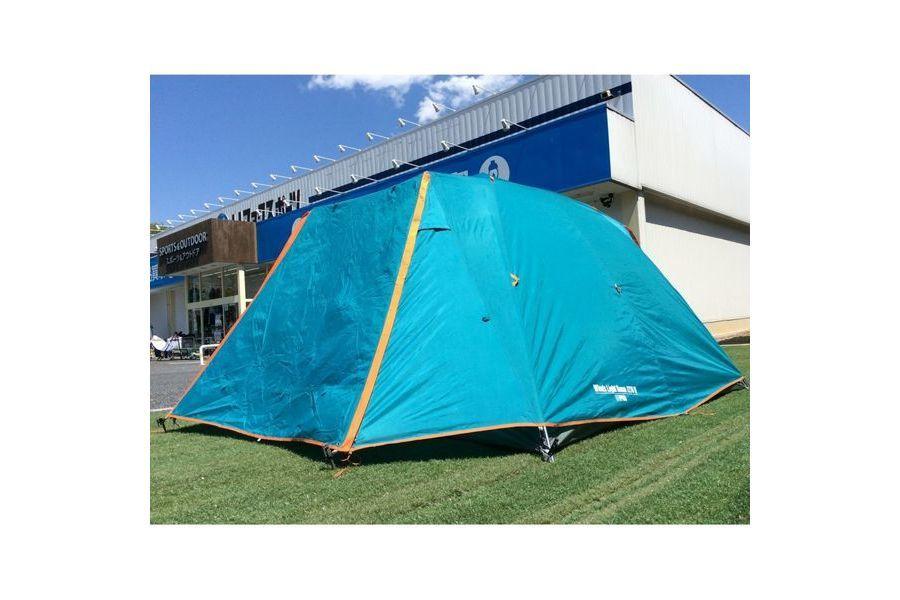 キャンプ用品のソロテント