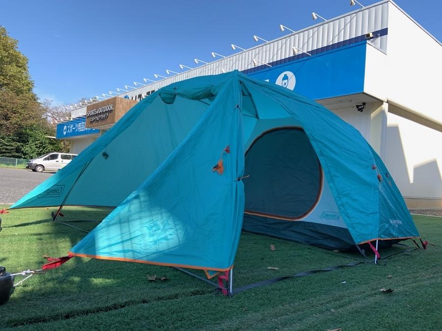 ソロテントのソロキャンプ