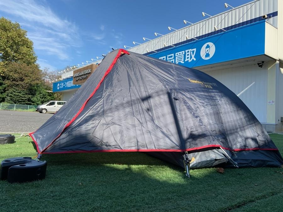 ソロキャンプのツーリングテント キャンプ